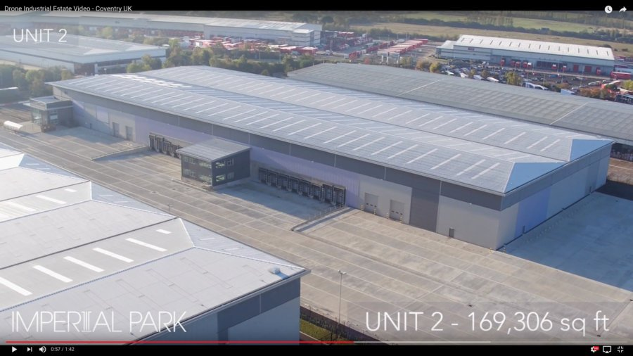 New Drone video created for Colliers in Coventry UK.